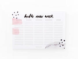 Dreamkey x Mevr. Knot | Weekly planner