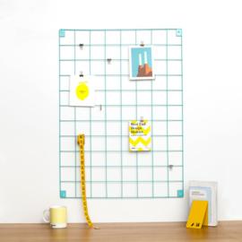 Wire mesh moodboard