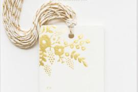 Setje Kadolabel Gold Lace Gift Tags (10 stuks)