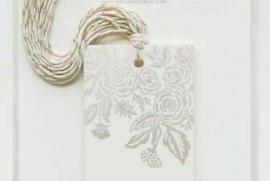 Setje Kadolabel Pearl Jardin Gift Tags (10 stuks)