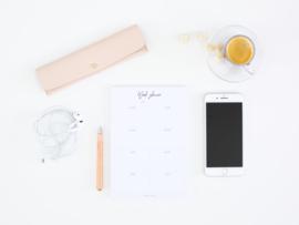 Weekplanner notepad A5