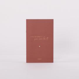 """Jo&Judy Notitieboek - Carmushka """"Dream it"""""""