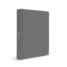 Mini binder | Charcoal
