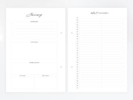 Dreamkey agenda 2019 - A5 vulling