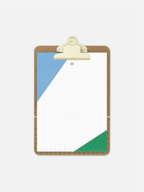 Clipboard | Yellow A5