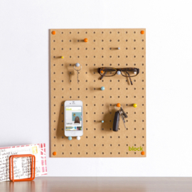Pegboard Block | Natural