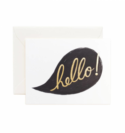Greeting card | Hello