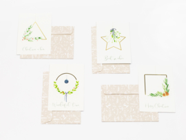 Dreamkey x Mevr. Knot X-mas | Christmas cards set of 8