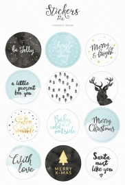 Sticker sheet | Christmas