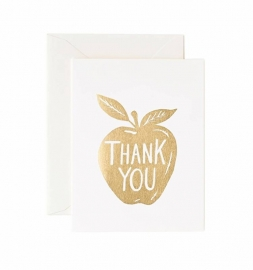 Kaart | Thank you golden apple