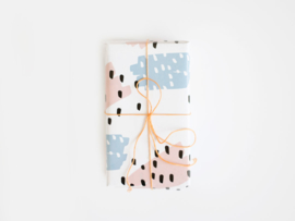 Wrapping paper | Paint swipes