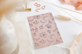 Kaart Pink Flowers