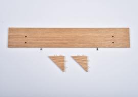Pegboard plankje - large