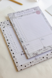 Notitieblok A5 'Daily Planner'