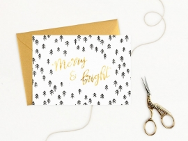 Greeting card | Merry & Bright