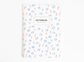 Notitieboek A5 | Happy blue