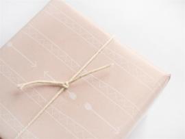 Inpakpapier pijlen & triangels