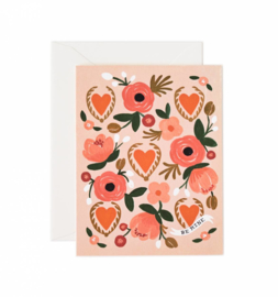 Greeting card | Be mine