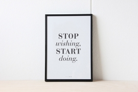 Poster A4 | Start doing