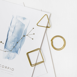 Jo&Judy Paperclips - goud