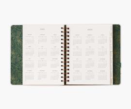 Rifle agenda 17 mnd - 2021 Planner Wild Garden