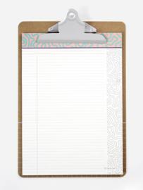 Clipboard | Lilac A4