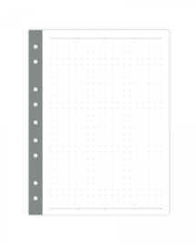 Mini binder dot grid