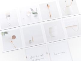 Inspiration cards | Minimalistic