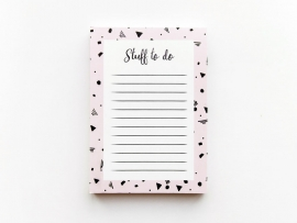 Pocket notepad  | Stuff to do
