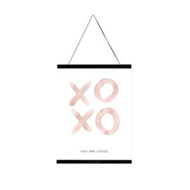 Jo&Judy Print 30x40 - XOXO