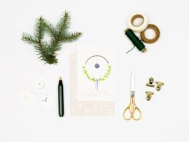 Dreamkey x Mevr. Knot X-mas | Christmas card Wonderful time