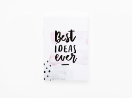 Dreamkey x Mevr. Knot | Pocket notebook Best ideas ever