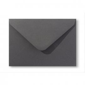 Vintage envelop C6 | Antraciet grijs