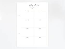 Weekplanner - Printable