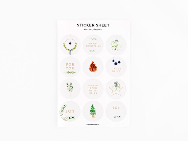 Dreamkey x Mevr. Knot X-mas | Stickervel