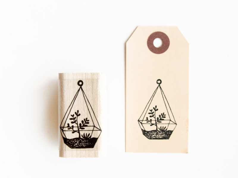Stamp | Hanging plant