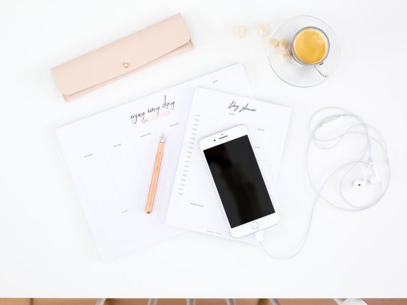 Bureauplanner notepad A4