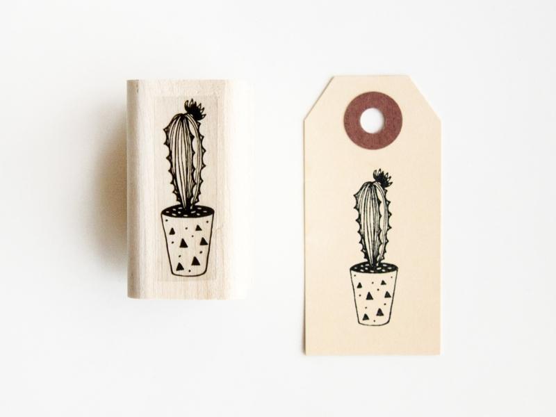 Stamp | Cactus II