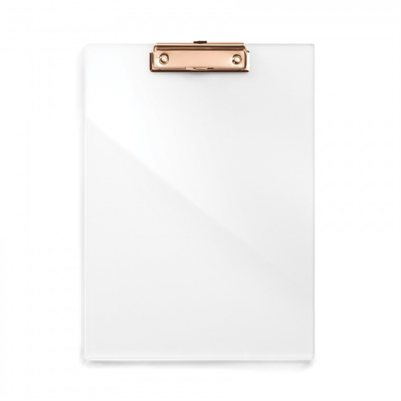 Clear Acrylic Clip Board