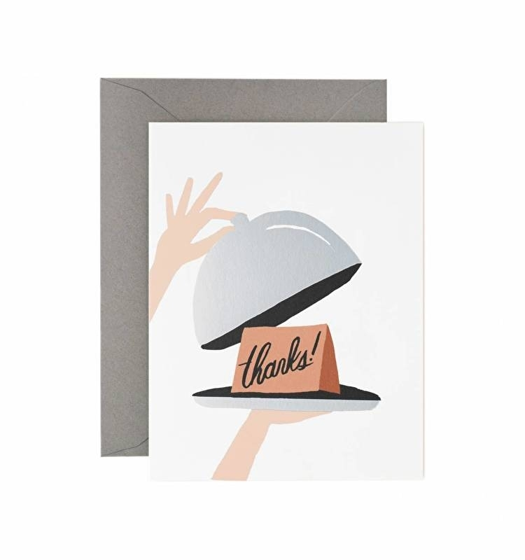 Greeting card | Thanks hostess
