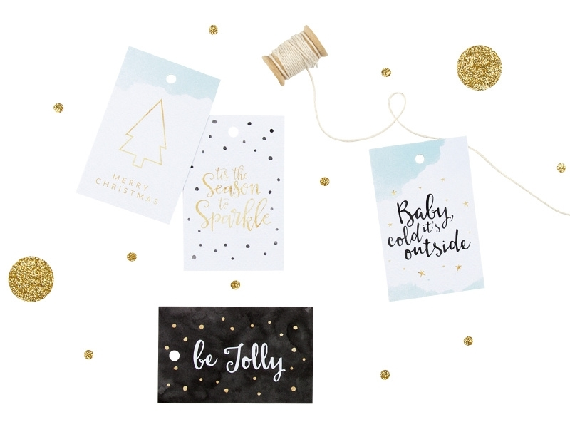 Kado Labels Set Van 8 Kerst Dreamkey Design Dreamkey