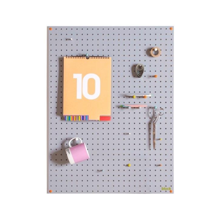 Pegboard Block | Grey