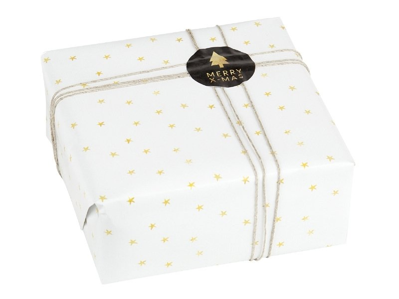 Wrapping paper | Golden stars