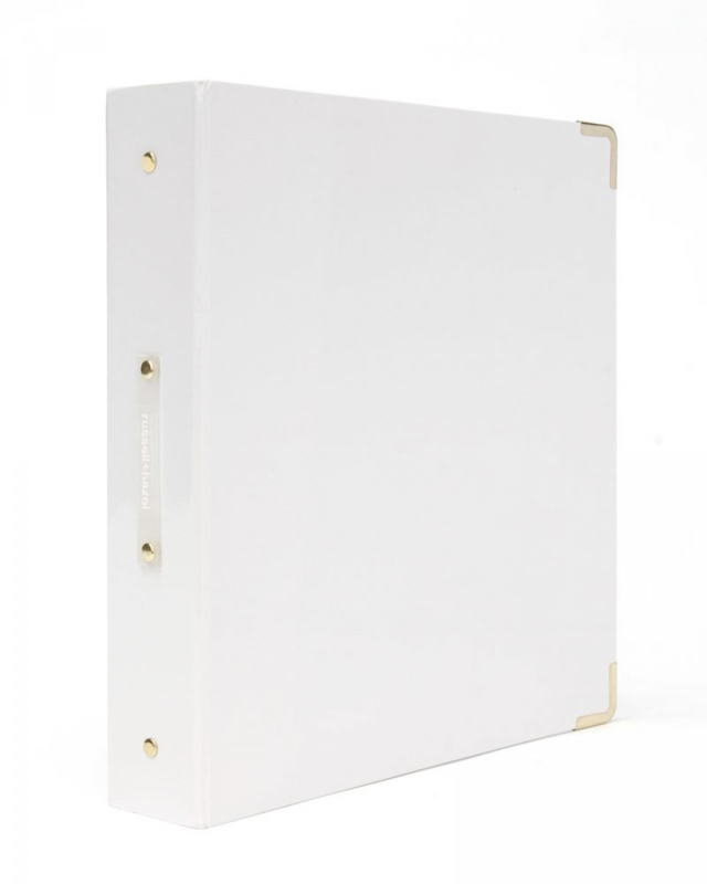 Large 3-rings binder - Wit