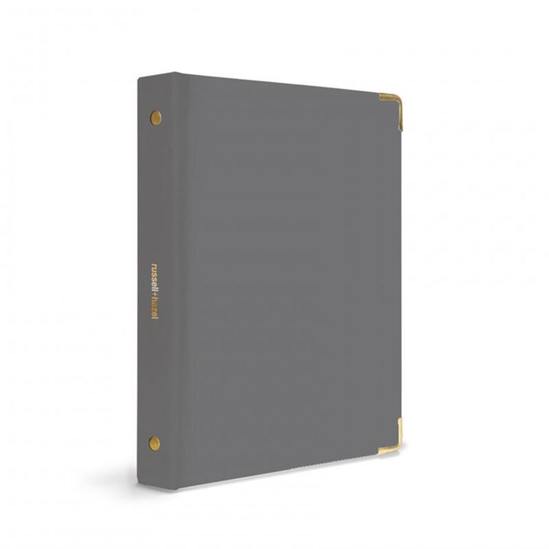 Mini binder - Charcoal