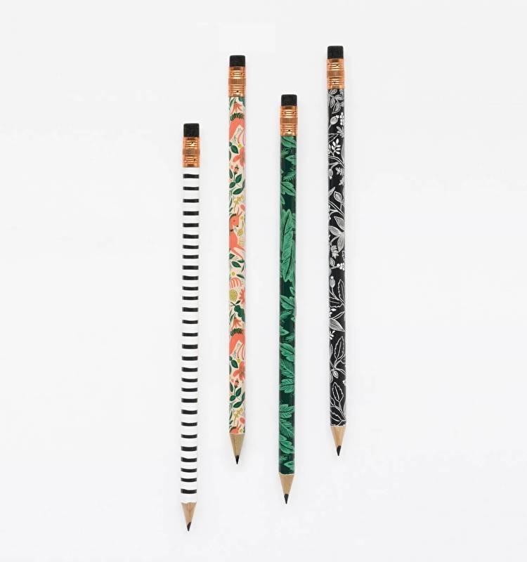 Writing pencils, set of 12 | Folk