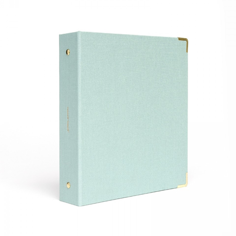 Mini 3 ring binder | Dew Bookcloth