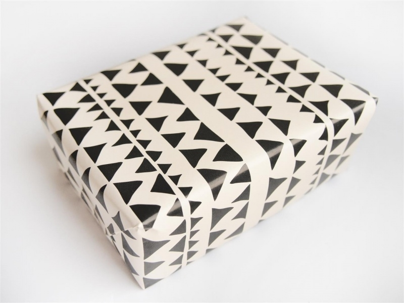 Wrapping paper | Triangles