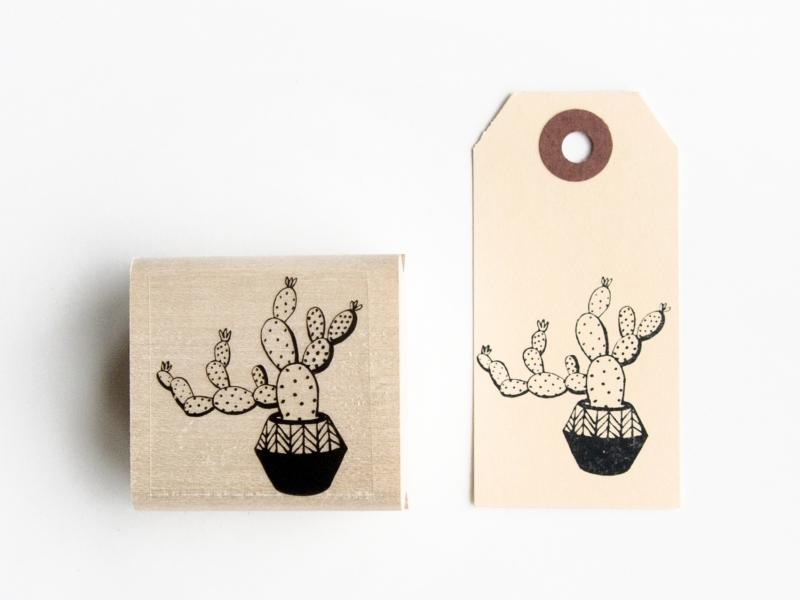 Stamp | Large cactus