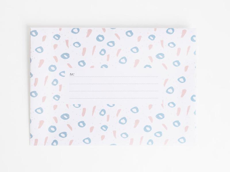 Envelopes | Happy blue